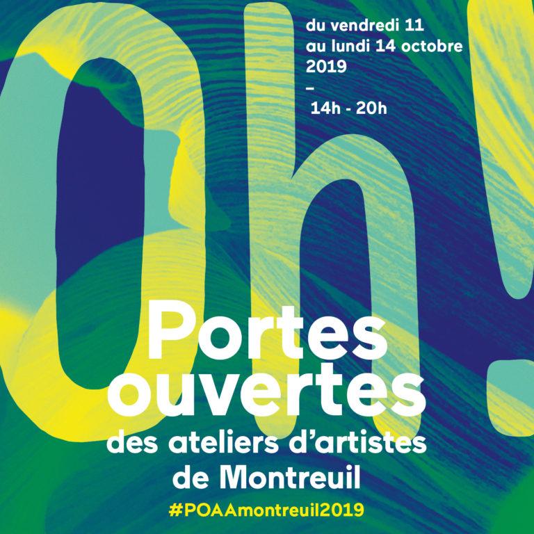 Portes ouvertes des ateliers d'artistes de Montreuil 2019